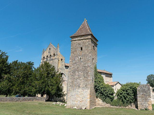 Le mariage de Benjamin et Marie-Laure à Blasimon, Gironde 33