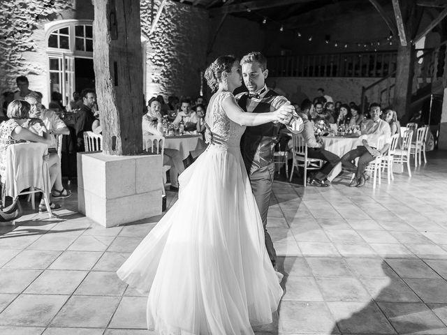 Le mariage de Benjamin et Marie-Laure à Blasimon, Gironde 75