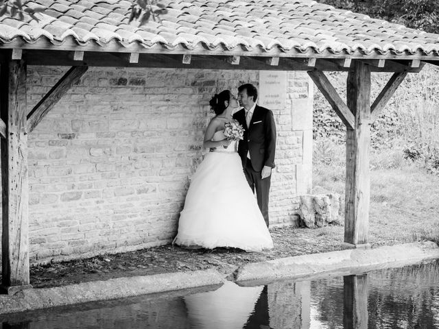 Le mariage de Nicolas et Émilie à Saint-Jean-d'Angély, Charente Maritime 52