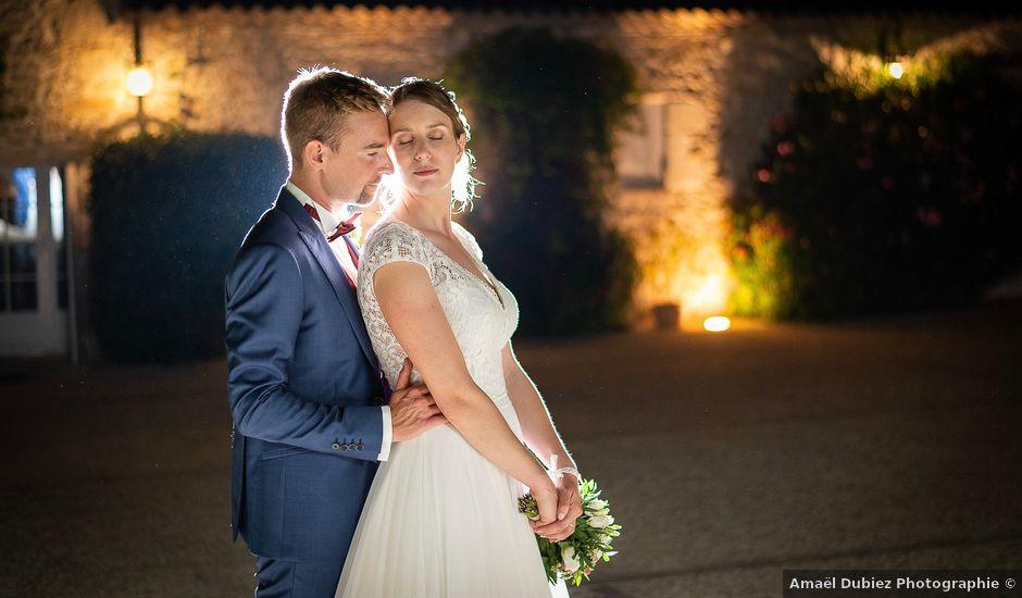 Le mariage de Benjamin et Marie-Laure à Blasimon, Gironde