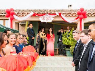 Le mariage de Trang et Fabien 1
