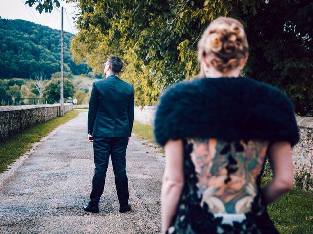 Le mariage de Olivier et Eva à Vignieu, Isère 13