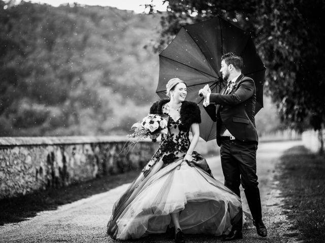 Le mariage de Olivier et Eva à Vignieu, Isère 20