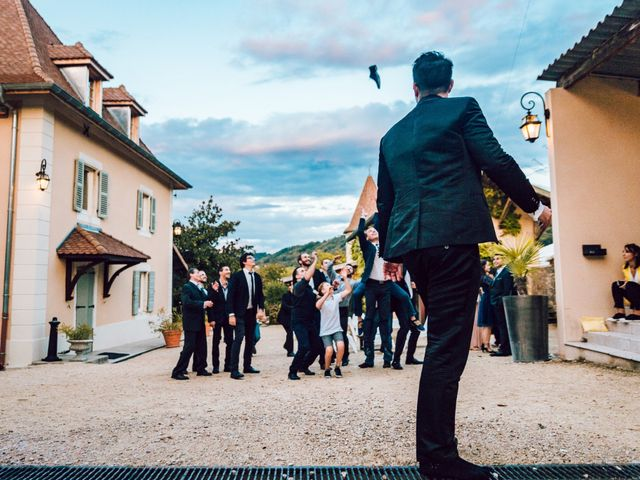 Le mariage de Olivier et Eva à Vignieu, Isère 79