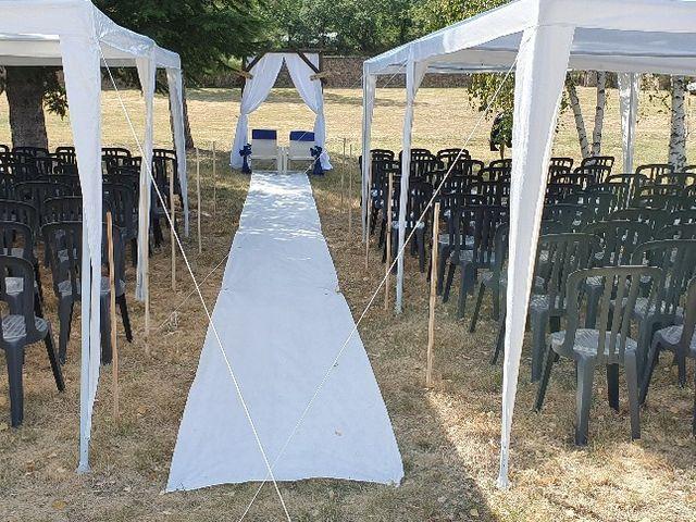 Le mariage de Guillaume et Lucille à Maclas, Loire 7