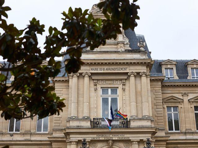 Le mariage de Adrien et Maëliss à Paris, Paris 10