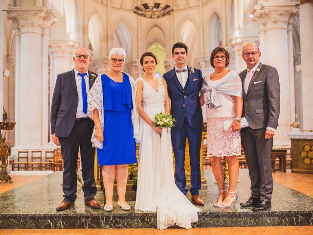 Le mariage de Thomas et Léa à Andouillé, Mayenne 54