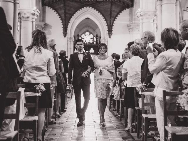 Le mariage de Thomas et Léa à Andouillé, Mayenne 85