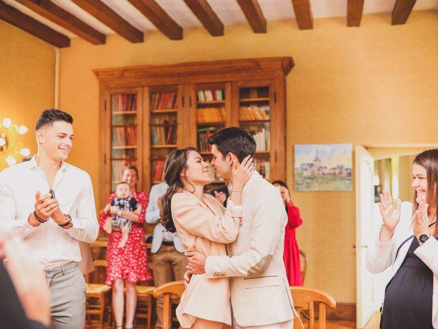 Le mariage de Thomas et Léa à Andouillé, Mayenne 86