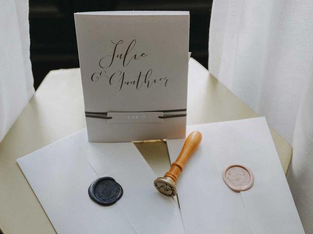 Le mariage de Gauthier et Julie à Nantes, Loire Atlantique 2
