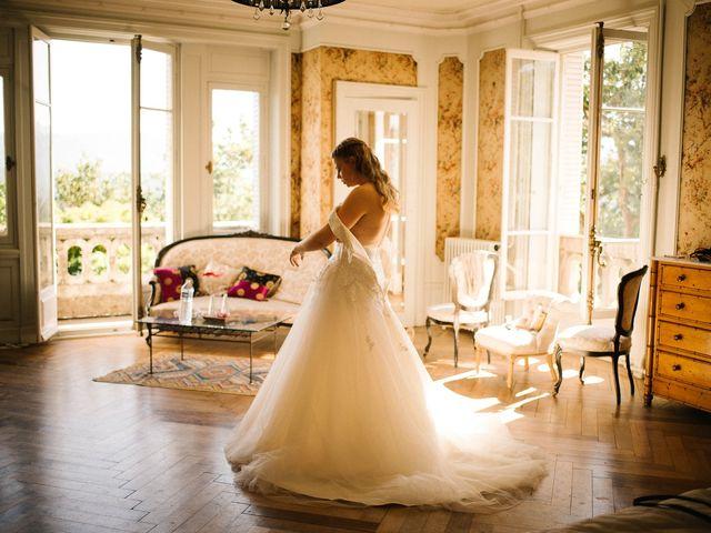 Le mariage de Cédric et Célia à La Sône, Isère 12