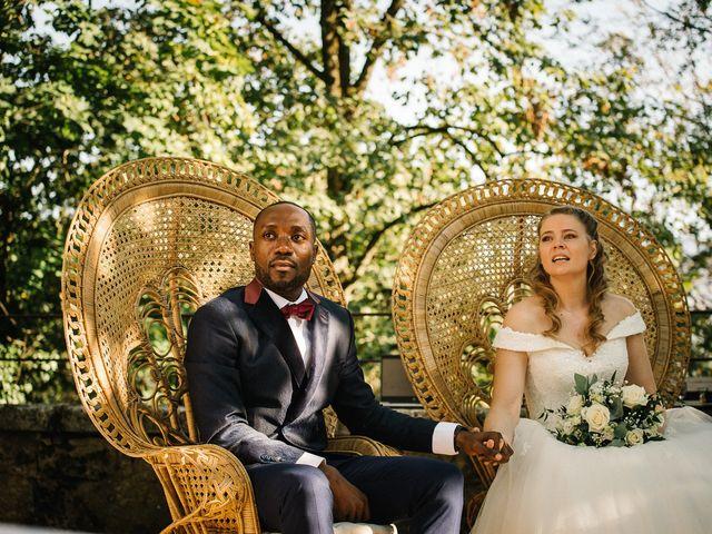 Le mariage de Cédric et Célia à La Sône, Isère 24