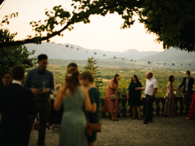 Le mariage de Cédric et Célia à La Sône, Isère 63