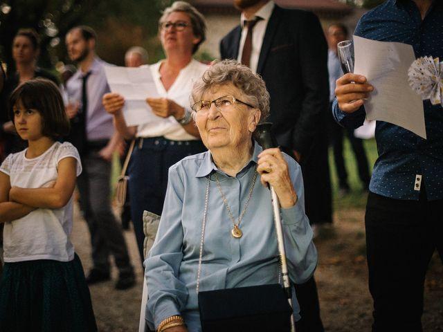 Le mariage de Cédric et Célia à La Sône, Isère 67