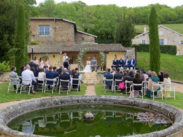 Le mariage de Brice et Cléo à Beaujeu, Rhône 16