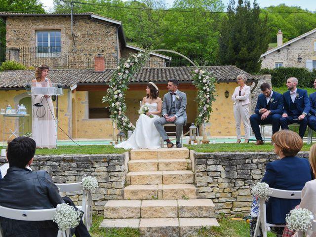 Le mariage de Brice et Cléo à Beaujeu, Rhône 19