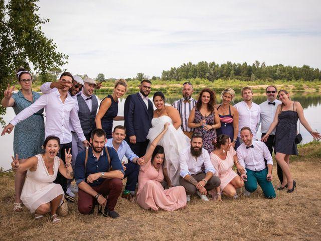 Le mariage de Goeffrey et Marlène à Avaray, Loir-et-Cher 4