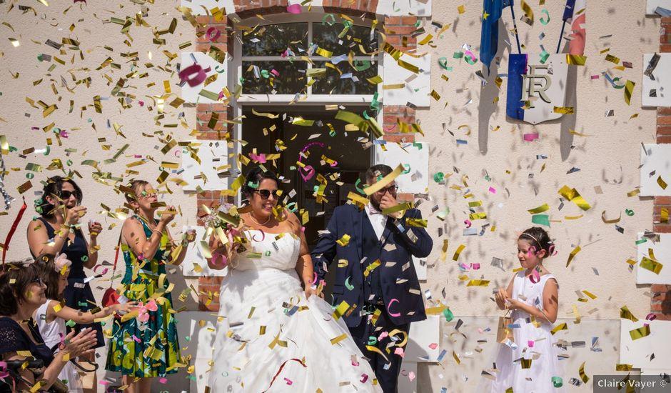 Le mariage de Goeffrey et Marlène à Avaray, Loir-et-Cher