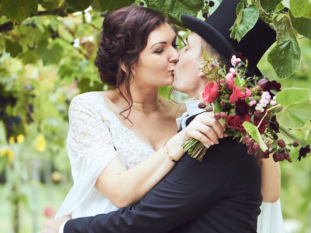 Le mariage de Fabrice et Amélie à Beauvoir-en-royans , Isère 14