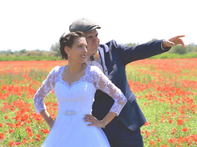 Le mariage de David et Christelle à Capestang, Hérault 17
