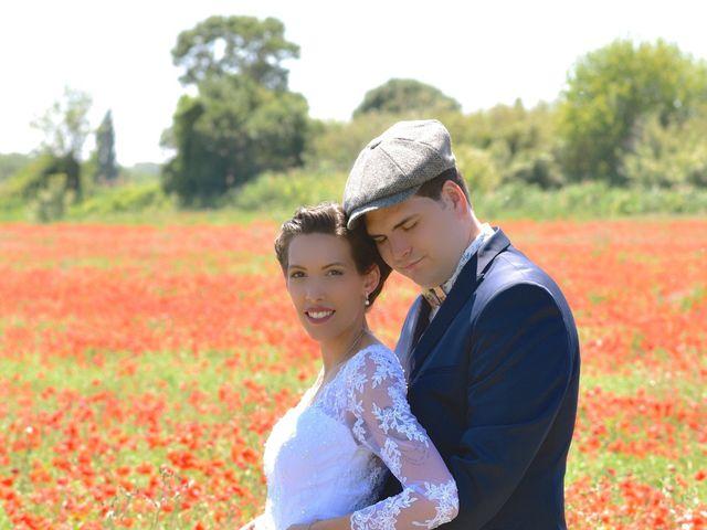 Le mariage de David et Christelle à Capestang, Hérault 18