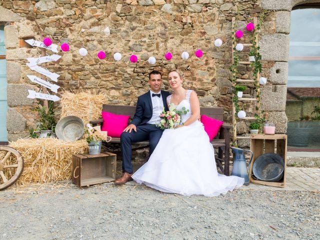 Le mariage de Julien et Adeline à Fenioux, Deux-Sèvres 48
