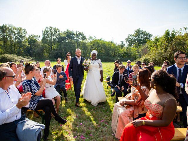 Le mariage de Jérémy et Fatou à La Chapelle-sur-Erdre, Loire Atlantique 32