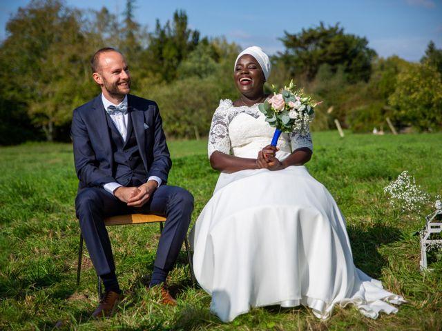 Le mariage de Jérémy et Fatou à La Chapelle-sur-Erdre, Loire Atlantique 35