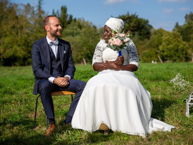 Le mariage de Jérémy et Fatou à La Chapelle-sur-Erdre, Loire Atlantique 38