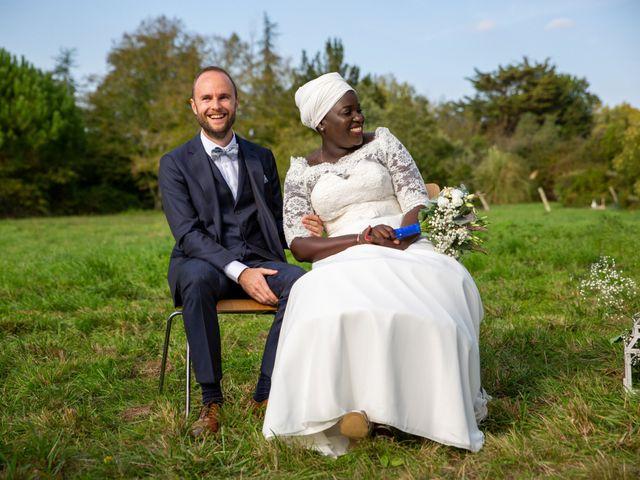 Le mariage de Jérémy et Fatou à La Chapelle-sur-Erdre, Loire Atlantique 39