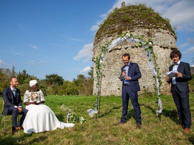 Le mariage de Jérémy et Fatou à La Chapelle-sur-Erdre, Loire Atlantique 44
