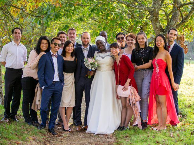 Le mariage de Jérémy et Fatou à La Chapelle-sur-Erdre, Loire Atlantique 65