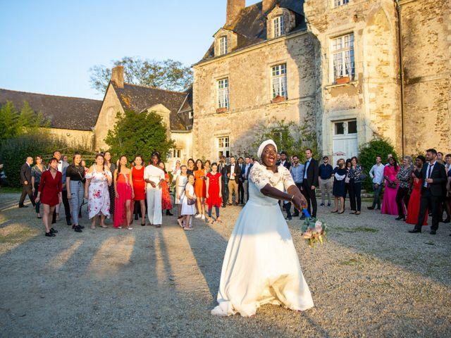 Le mariage de Jérémy et Fatou à La Chapelle-sur-Erdre, Loire Atlantique 90