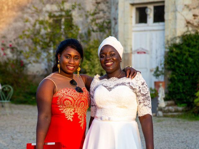 Le mariage de Jérémy et Fatou à La Chapelle-sur-Erdre, Loire Atlantique 96