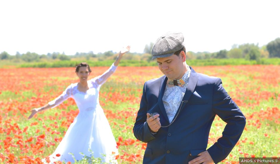 Le mariage de David et Christelle à Capestang, Hérault
