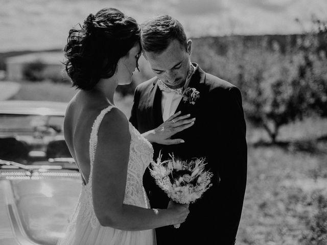Le mariage de Tom et Célia à Châteaudouble, Drôme 17