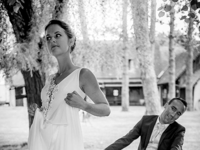 Le mariage de Yann et Maëlle à Saint-Rémy-sur-Creuse, Vienne 37