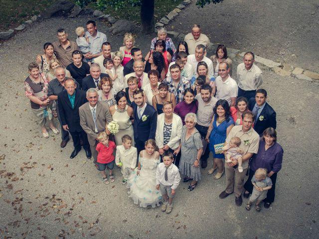 Le mariage de Romain et Gabriela à Montmaur, Hautes-Alpes 34