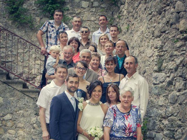 Le mariage de Romain et Gabriela à Montmaur, Hautes-Alpes 38