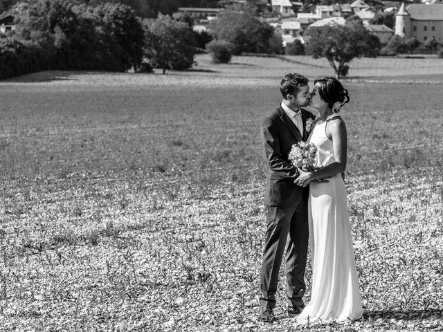 Le mariage de Romain et Gabriela à Montmaur, Hautes-Alpes 48