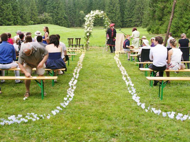 Le mariage de Céryl et Elodie à Gérardmer, Vosges 10