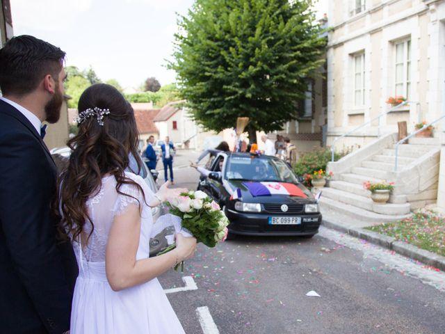 Le mariage de Guillaume et Victorine à Épineuil, Yonne 3