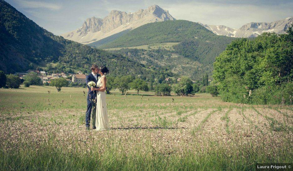 Le mariage de Romain et Gabriela à Montmaur, Hautes-Alpes