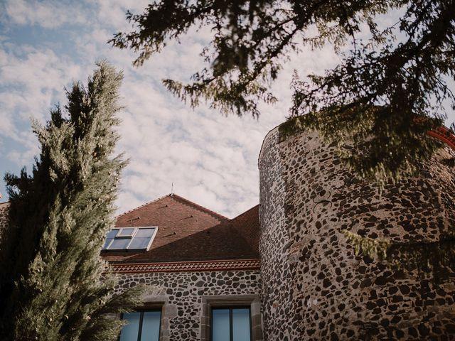 Le mariage de Johann et Marion à Usson, Puy-de-Dôme 2