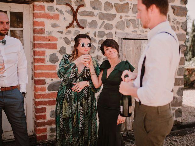 Le mariage de Johann et Marion à Usson, Puy-de-Dôme 42