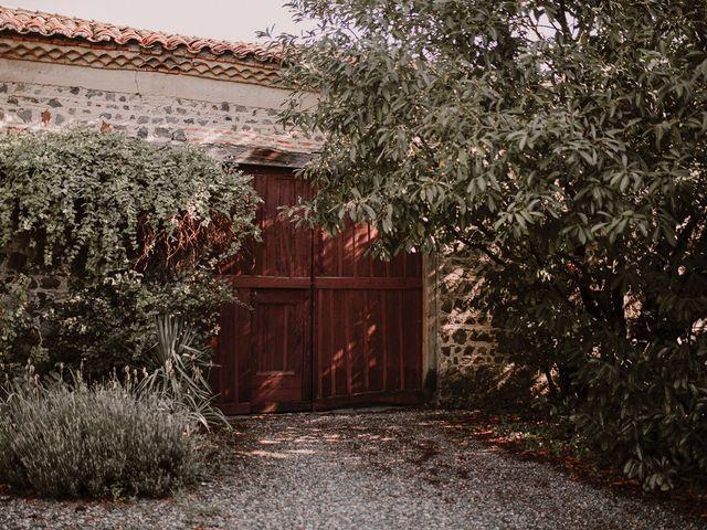 Le mariage de Johann et Marion à Usson, Puy-de-Dôme 43