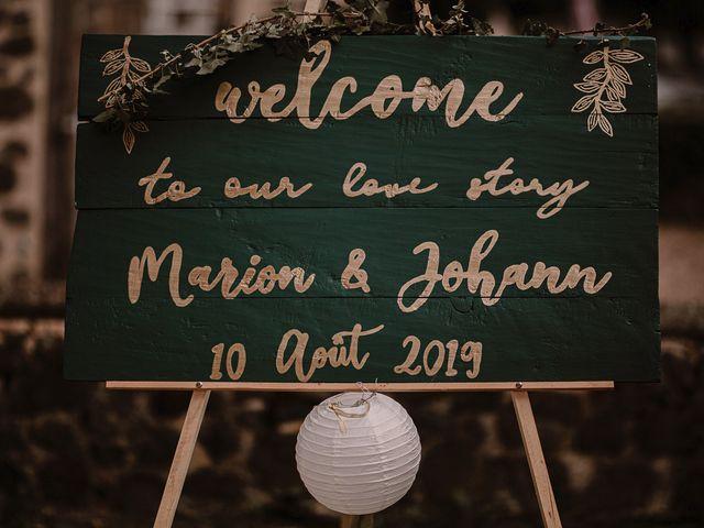 Le mariage de Johann et Marion à Usson, Puy-de-Dôme 63