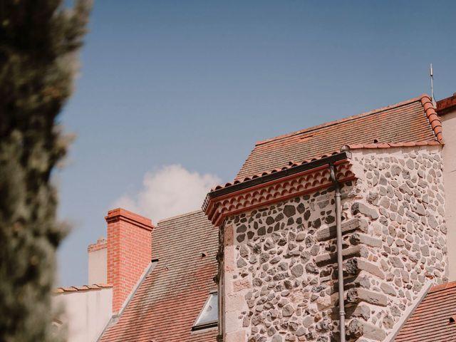 Le mariage de Johann et Marion à Usson, Puy-de-Dôme 69