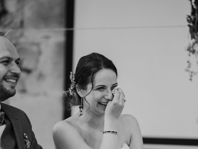 Le mariage de Johann et Marion à Usson, Puy-de-Dôme 74
