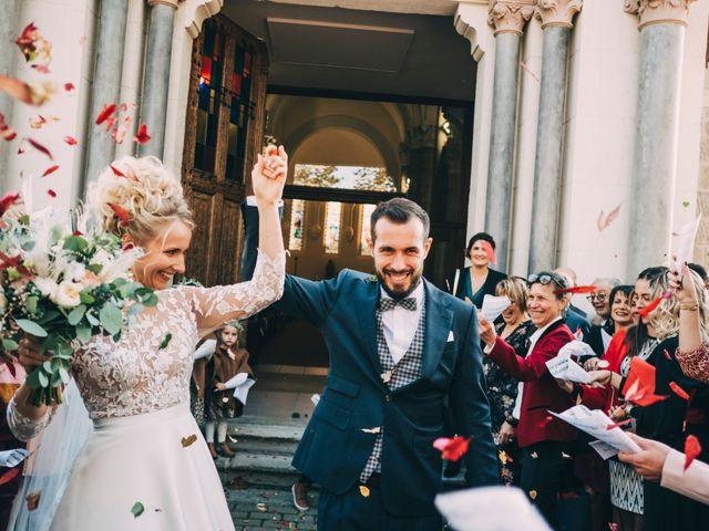 Le mariage de Mathieu et Manon à Saint-Genest-Malifaux, Loire 35
